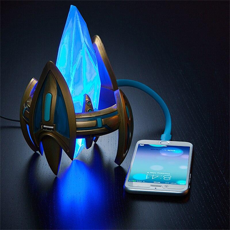 Star Craft II Protoss Pylon cargador USB Estación de alimentación de escritorio Blizzcon a estrenar