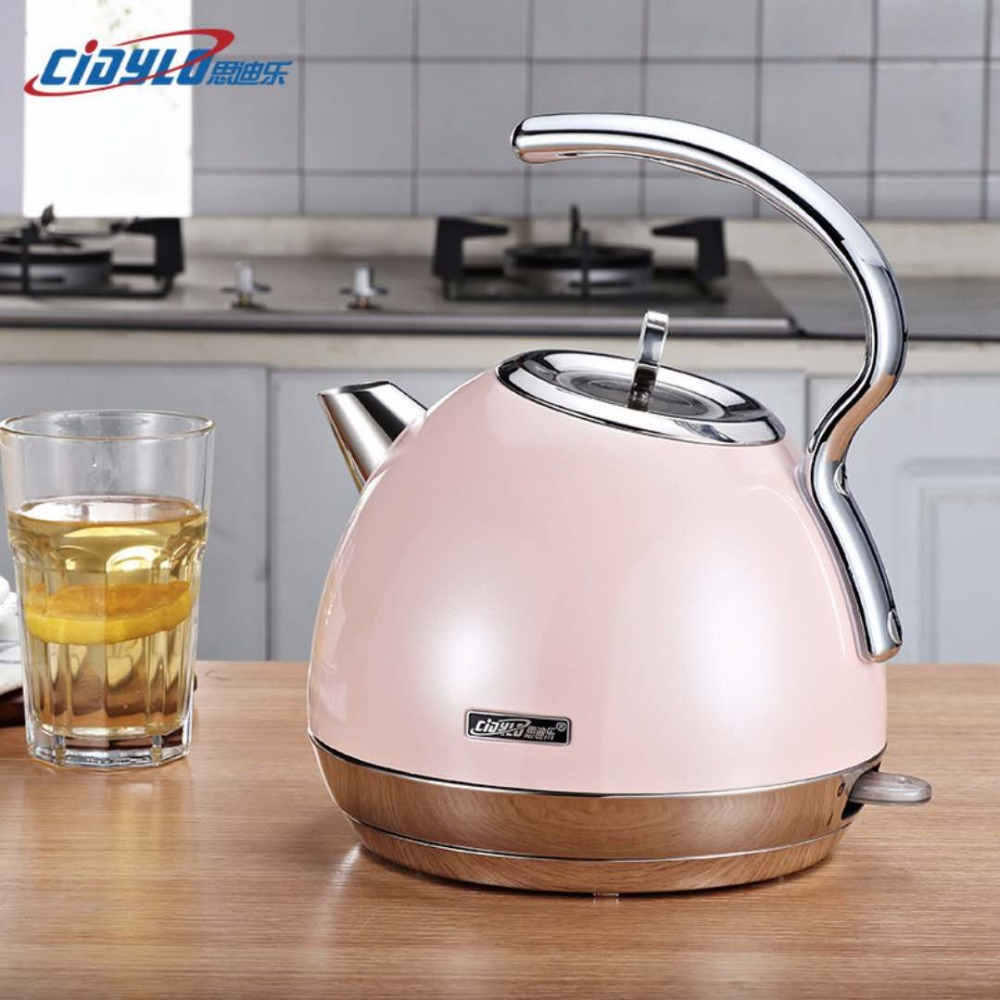 cidylo Kettle Electric Stainless Steel 1.8 L 220 V