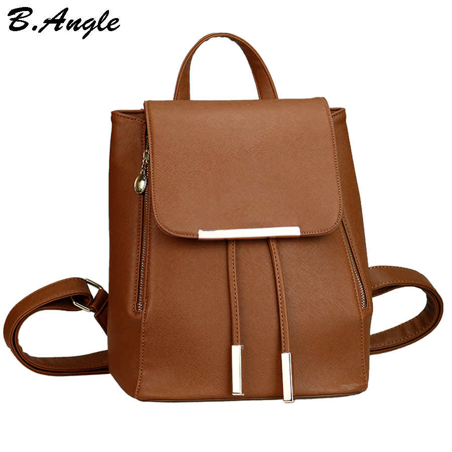 High quality backpack fashion backpack women casual leather school bag  simple printing backpack travel bag backpacks  цена и фото