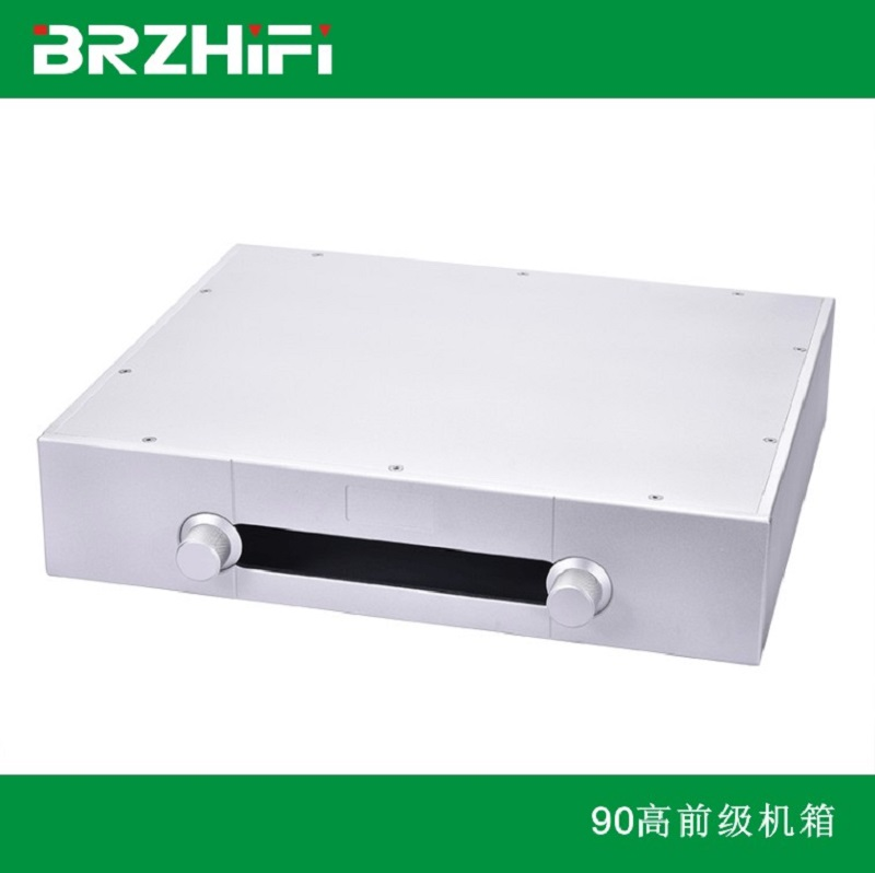 BRZHIFI GaoWen series aluminum case for preamplifier 430 360 90mm