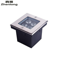 Free Shipping 110V/220V High Power LED 4W Buried Lamp Waterproof Outdoor Lighting Underground