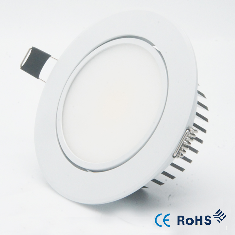 10 XNEW 5 Вт 9 Вт 12 Вт затемненный светодиодный светильник потолочный светильник 85-265 в потолочный встраиваемый освещение внутреннее освещение+ светодиодный драйвер
