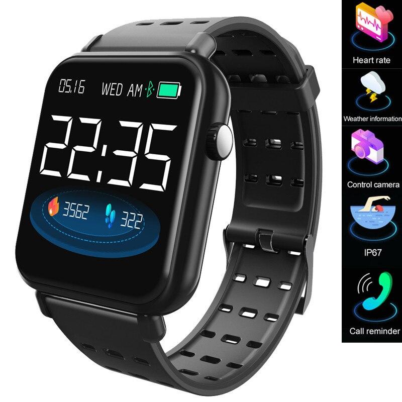 フィットネストラッカー Y6pro スマート腕時計男性女性心拍数スポーツ記録メッシュ実行歩数計電子スマート腕時計  グループ上の 腕時計 からの デジタル腕時計 の中 1