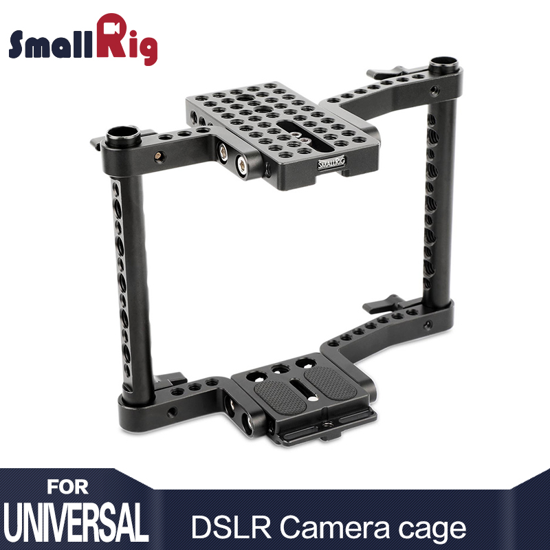 SmallRig Cage for Mid-sized Camera For Canon 50 60 70 80 6 7D MarkII 5D MarkIII 5DS For Nikon D7000 7100 7200 For Sony A99-1584