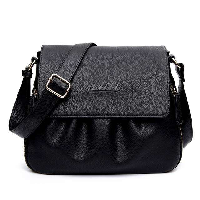 High Quality Genuine Leather Womens Handbags Casual Female Shoulder Bags Women Messenger Crossbody Bag Travel Bag Free Shipping