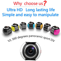 New Allwinner V3 360 Camera  Wifi Mini Panoramic Camera HD Panorama Camera 360 Action Sport Driving VR Camera VR glasses