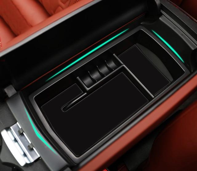 Peugeot 3008 Accessoires : car central tray accessories organizer for peugeot 3008 3008 gt 2017 interior center console ~ Mglfilm.com Idées de Décoration