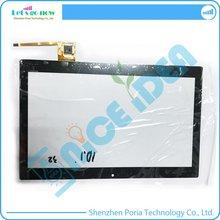 "100% Nuevo 10.1 ""Pulgadas de Pantalla Táctil Digitalizador Para RAYSENS RS10F1609043PSV1 6 Tablet Touch Reemplazo de Cristal Del Panel Frontal Negro"