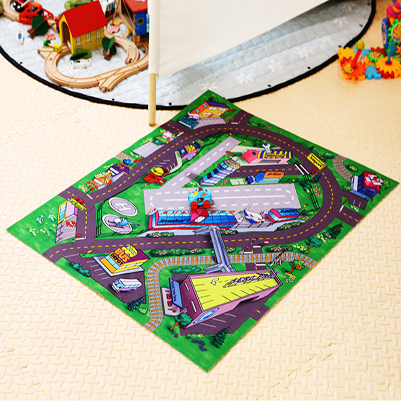 Traffic Road Mats Kids Toys/Rug For Baby Toys Children's