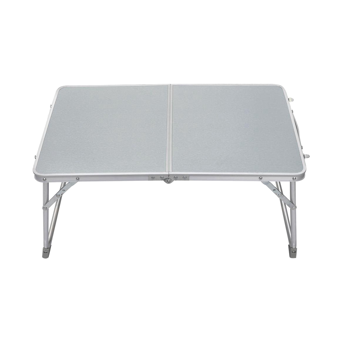 Small 62x41x28cm/24.4x16.1x11 PC Laptop Table Bed Desk Camping Picnic BBQ (Silver White) pc 39