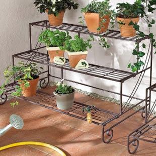 100 Pot Stands Container Gardening Flower In