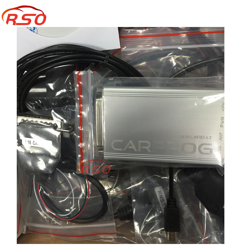 ФОТО High quality Newest V9.31Professional CARPROG CAR PROG Programmer For Repair Tools With 21 Full Adapter DHL free