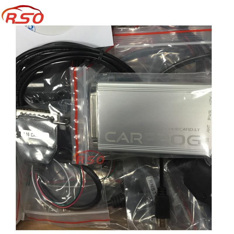 ФОТО High quality Newest V9.31Professional CARPROG CAR PROG Programmer For Repair Tools With 21 Full Adapter DHL free