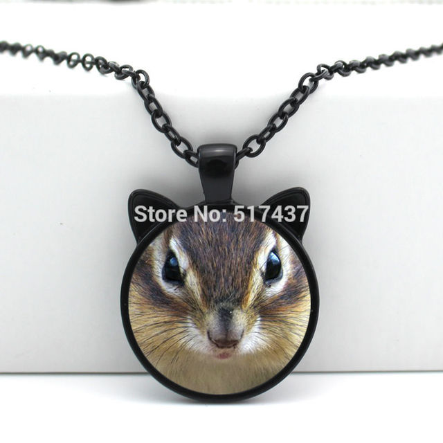 2017 new hot new glass squirrel pendant animal jewelry squirrel 2017 new hot new glass squirrel pendant animal jewelry squirrel necklace glass cabochon necklace pendant hz2 aloadofball Image collections