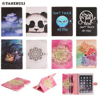 For IPad Air2 IPad6 Coque High Quality PU Leather Flip Smart Book Case For Apple IPad