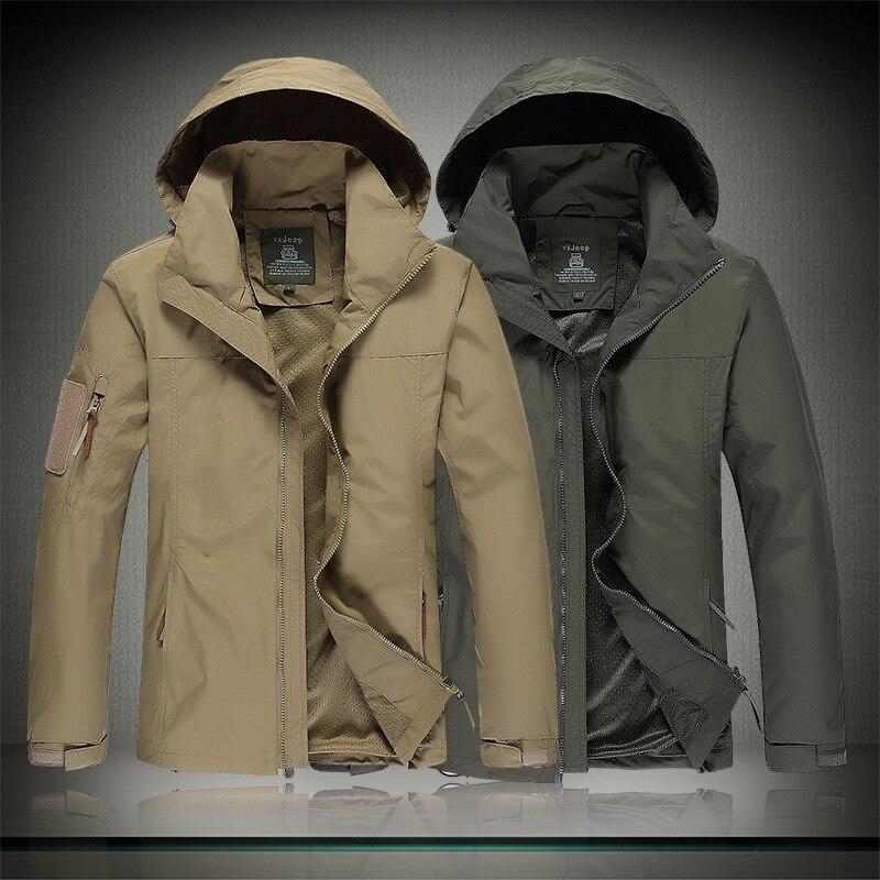 GEJIAN City Military Tactical jacket Men's Combat Army Military uniform Outdoor Sports Jacket, Army Tactical Top chaqueta hombre