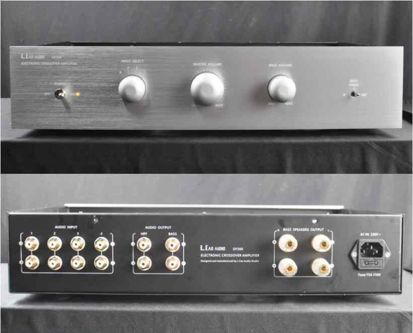 Douk Audio Electronic Tube Crossover Amplifier Audiophile for Smallsize  Open Baffle Speaker