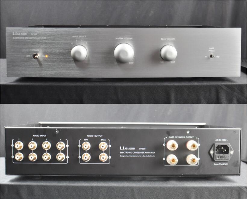 Douk аудио электронные трубки кроссовер усилитель Audiophile для малогабаритные открытым перегородка Динамик