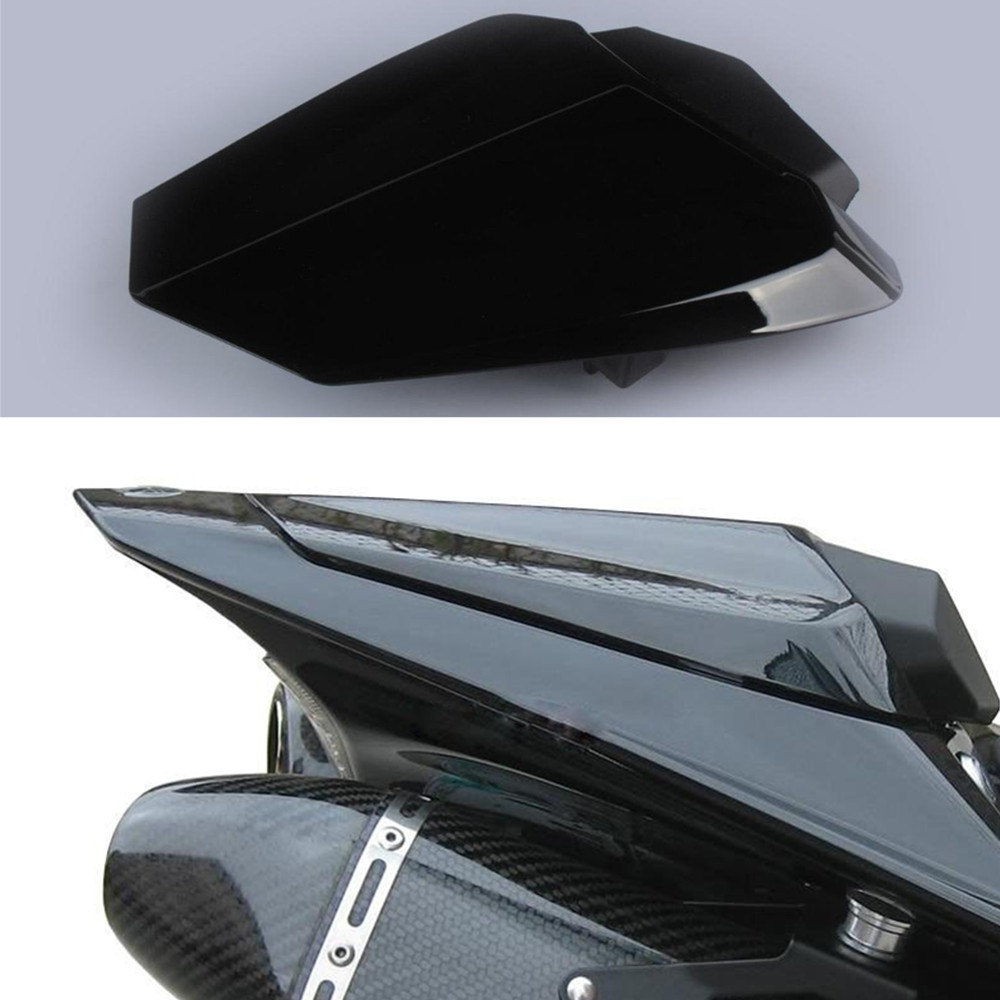 Black Motorcycle Rear Seat Cover Cowl Fairing For Yamaha YZF <font><b>R1</b></font> <font><b>2009</b></font> - 2014 2010 2011 2012 09 10 11 12 13 14 Brand New image