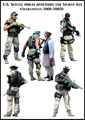 US SPECIAL FORCES OPERATORS AND AFGHAN MAN (AFGHANISTAN 2001-2003) 6 Figures 1/35 Resin Model Kit Free Shipping