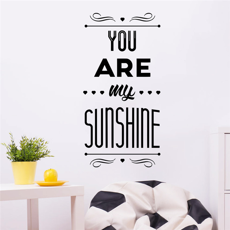 newest romantic quote You Are My Sunshine happy family ...