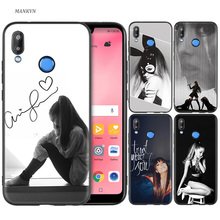 Silicone Case Cover for Huawei P20 P10 P9 P8 Lite Pro 2017 P Smart+ 2019 Nova 3i 3E Phone Cases Cat Ar Ariana Grande girl
