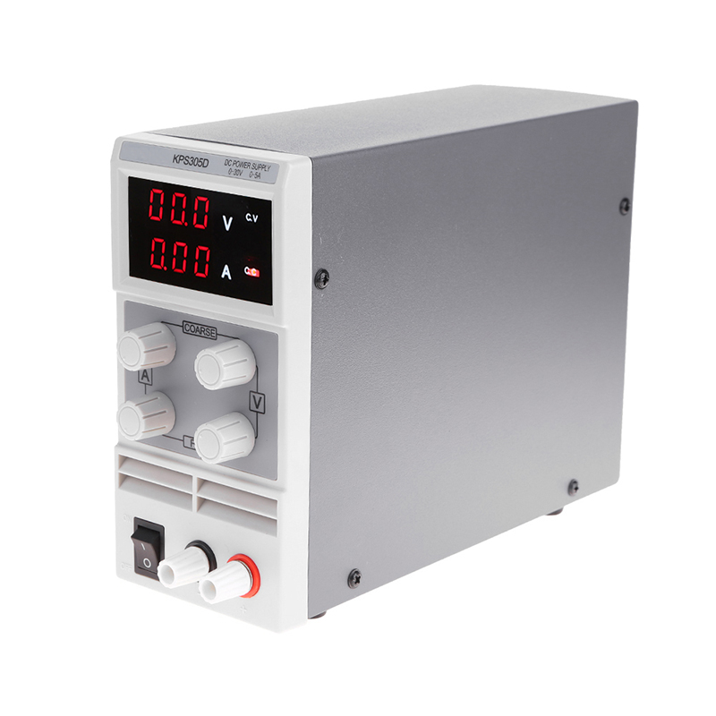 KPS305D Voltage Regulators Precision Adjustable Digita DC Power Supply 30V 5A Switch Laboratory 0.1V 0.01A Power Supply