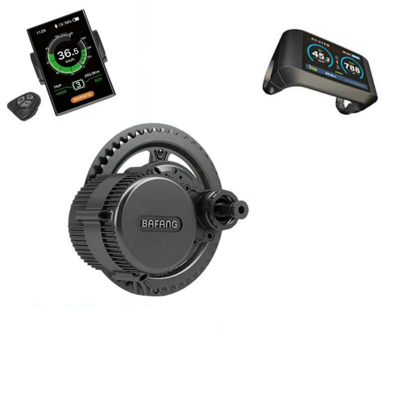 무료 배송 Bafang 8fun BBS02B 36 볼트 500 와트 브러시리스 중간 드라이브 크랭크 모터 변환 DIY 세발 자전거 키트 모터