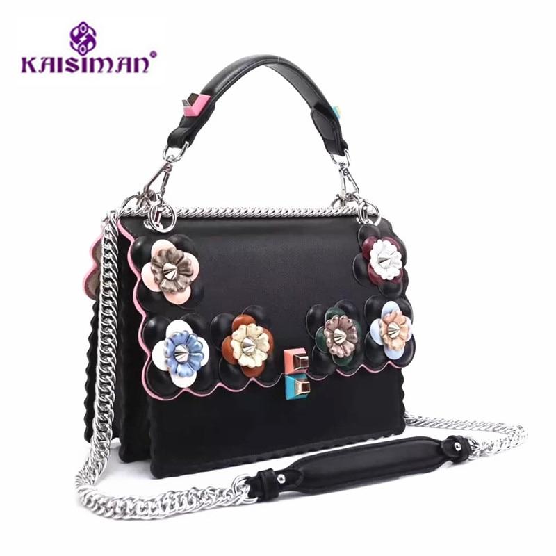 Luxury Brand Genuine Leather Women Totes Messenger Bag Peekaboo Bag Handbag Fashion Famous Designer Chain Shoulder Crossbody Bag