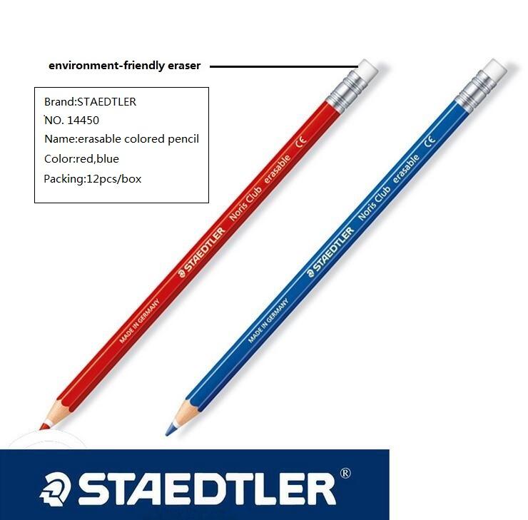 Staedtler 14450 цветных карандашей красный/синий стираемый карандаш