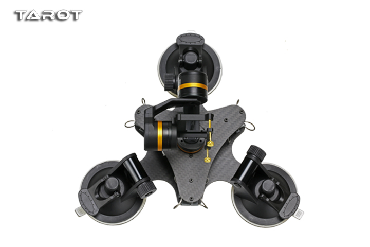 Tarot ZYX T-DZ 3-Axis Metal Camera Gimbal Stabilizer Car Mounted PTZ TL3T03 for GOPRO HERO 3/3+/4 Action Sport Camera tarot tl3t05 for gopro 3div metal 3 axis brushless gimbal ptz for gopro hero 5 for fpv system action sport camera nwz