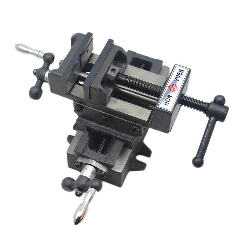 Precision Heavy-duty Manual Tiger Caliper Bench Drill with a Cross-Clamp 3 Inch Cross-Flattened Pliers недорго, оригинальная цена