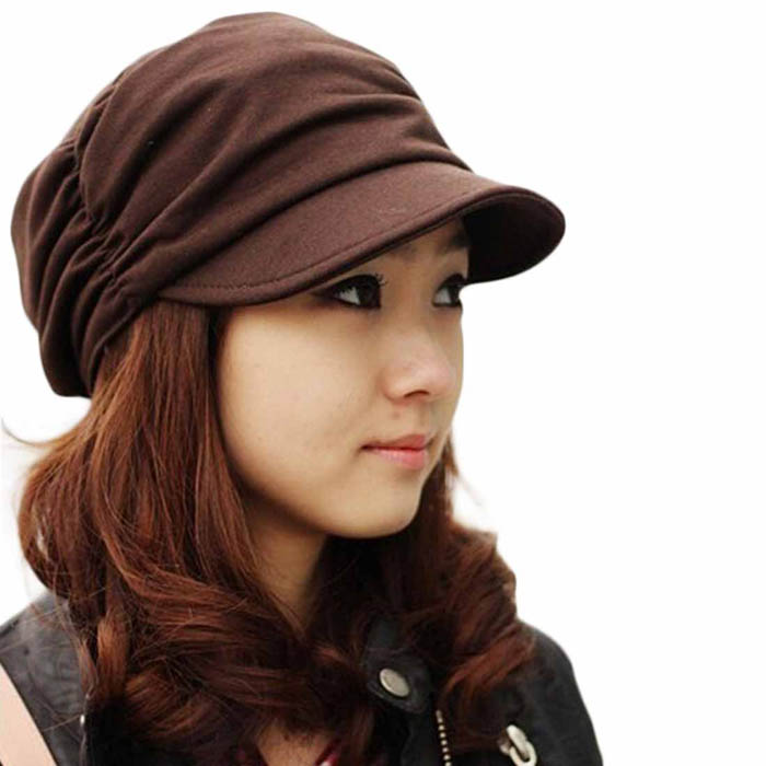 Fashion Bouffancy Unisex Army Military Cap Flat -Top Hat Student Hat Vintage spring and winter cap Hats lady mujeres hombres fashion winter hat solid color woolen flat top cap unisex autumn and winter cap w005