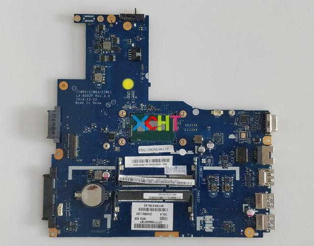 لينوفو B40 70 w SRIEN i3 4030U CPU ZIWE1/ZIWB2/ZIWB3 LA B092P محمول اللوحة اللوحة اختبار