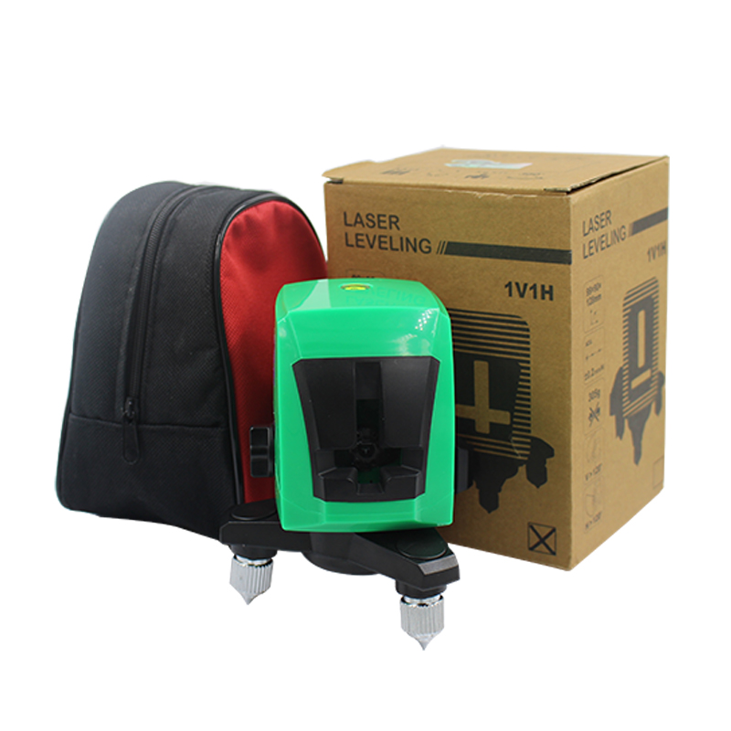 AcuAngle A8871G 635nm 2 Green Lines 1 Point Laser Level 360 degree Self- leveling Cross Laser Level Diagnostic-tools 3386519 3