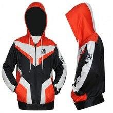 Avengers Endgame Quantum warfare Cosplay Costume 3D Printing zipper Sweatshirts Hooded fashion Men and women Anime jacket