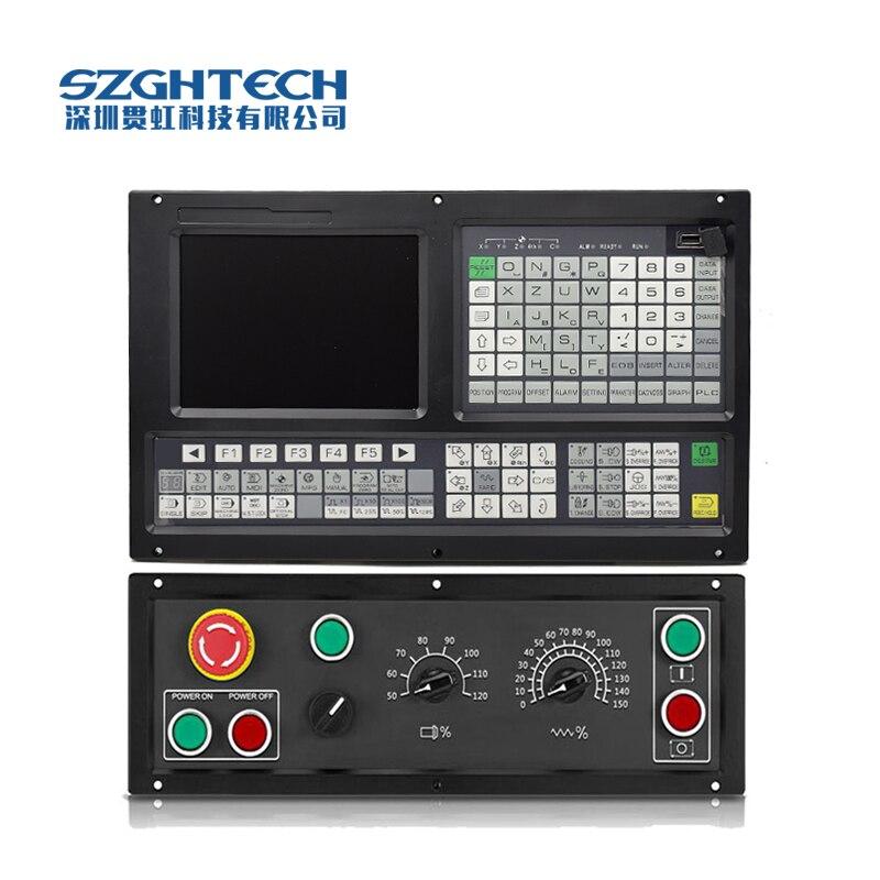 Mini contrôleur de CNC avec démonstration de piste 3D largement applicationnel contrôleur de fraiseuse de CNC 3 axes
