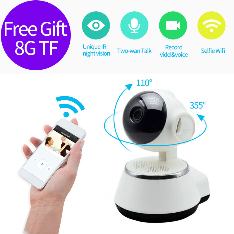 HD 720P V380 IP Camera WiFi smart Home wireless Surveillance