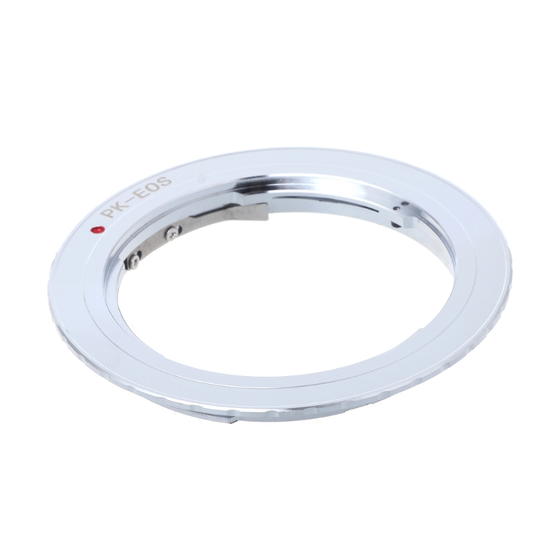 PK-EOS Lens Mount Adapter Ring for Pentax Phoenix PK to Canon EF EOS Camera