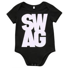Infant baby toddler T Shirts Kid Minecraft Tops Swag Design Short Sleeve Clothing Boys Girls Shirts 0-24M Children Clothes(China)
