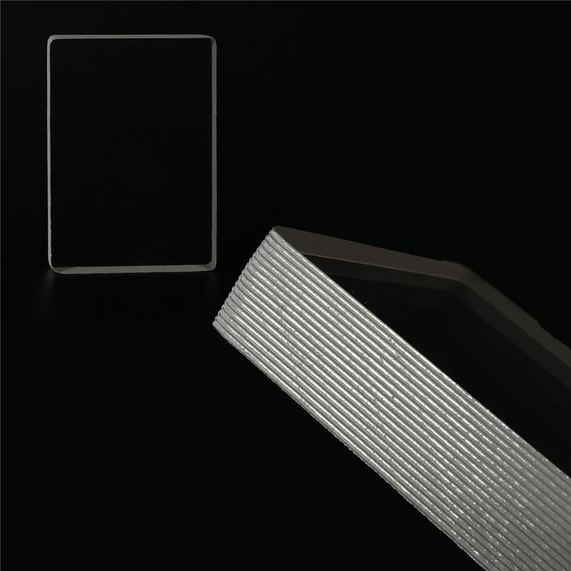 Jimitu topo cristal claro bloco de gelo de vidro omni baralho jogando cartas close-up truques mágicos acrílico jogos de tabuleiro de entretenimento 9x6.5cm