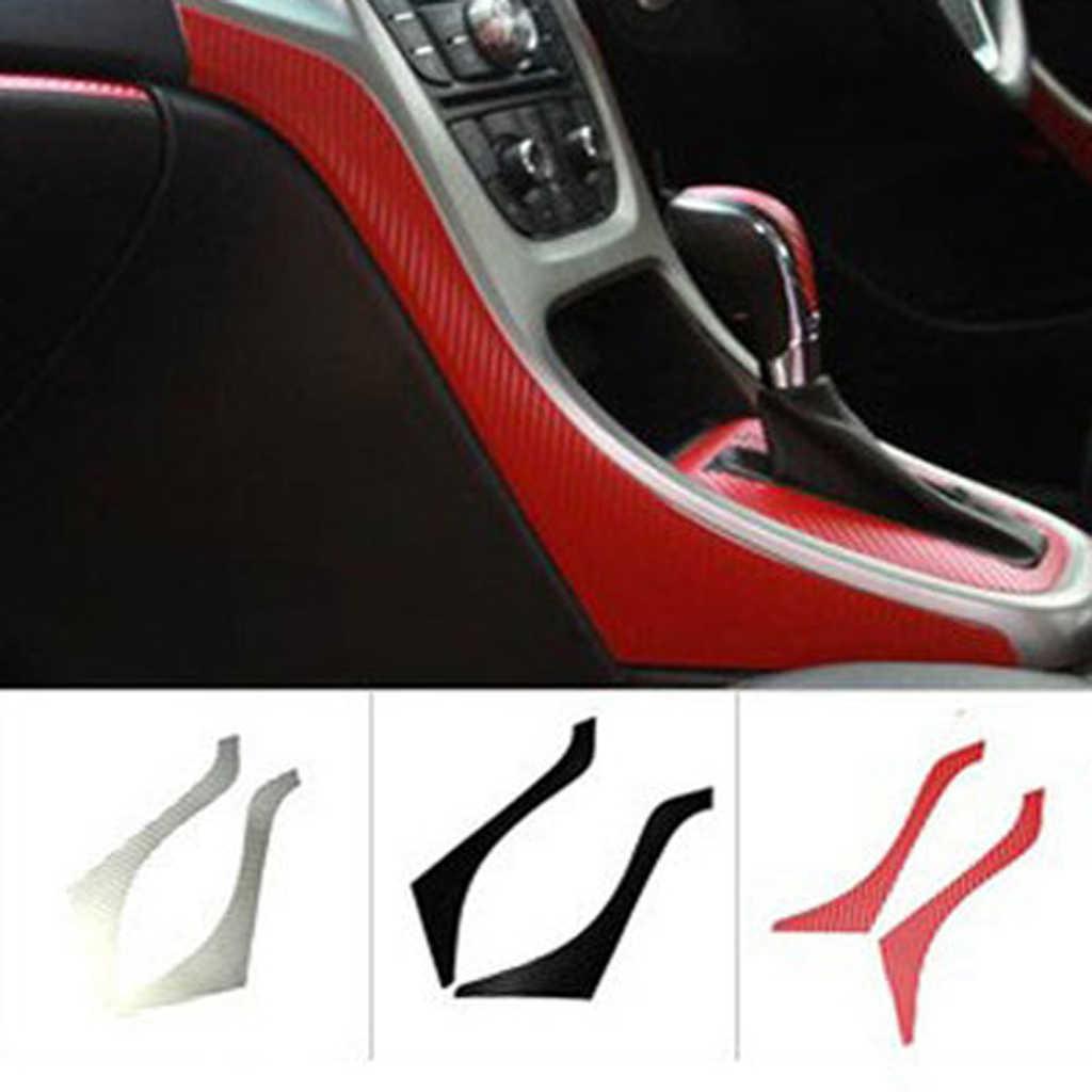 Paire d'autocollants de garniture de panneau latéral de Console centrale pour Buick Excelle XT GT