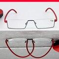 Aleación de titanio Marco Ultraligero Gafas TR90 templo elástica Por Encargo con receta gafas de miopía lente Photochrmic-1 a-6