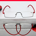 Titanium alloy TR90 elastic temple Ultralight Frame Spectacles Custom Made prescription lens myopia glasses Photochrmic -1 to -6