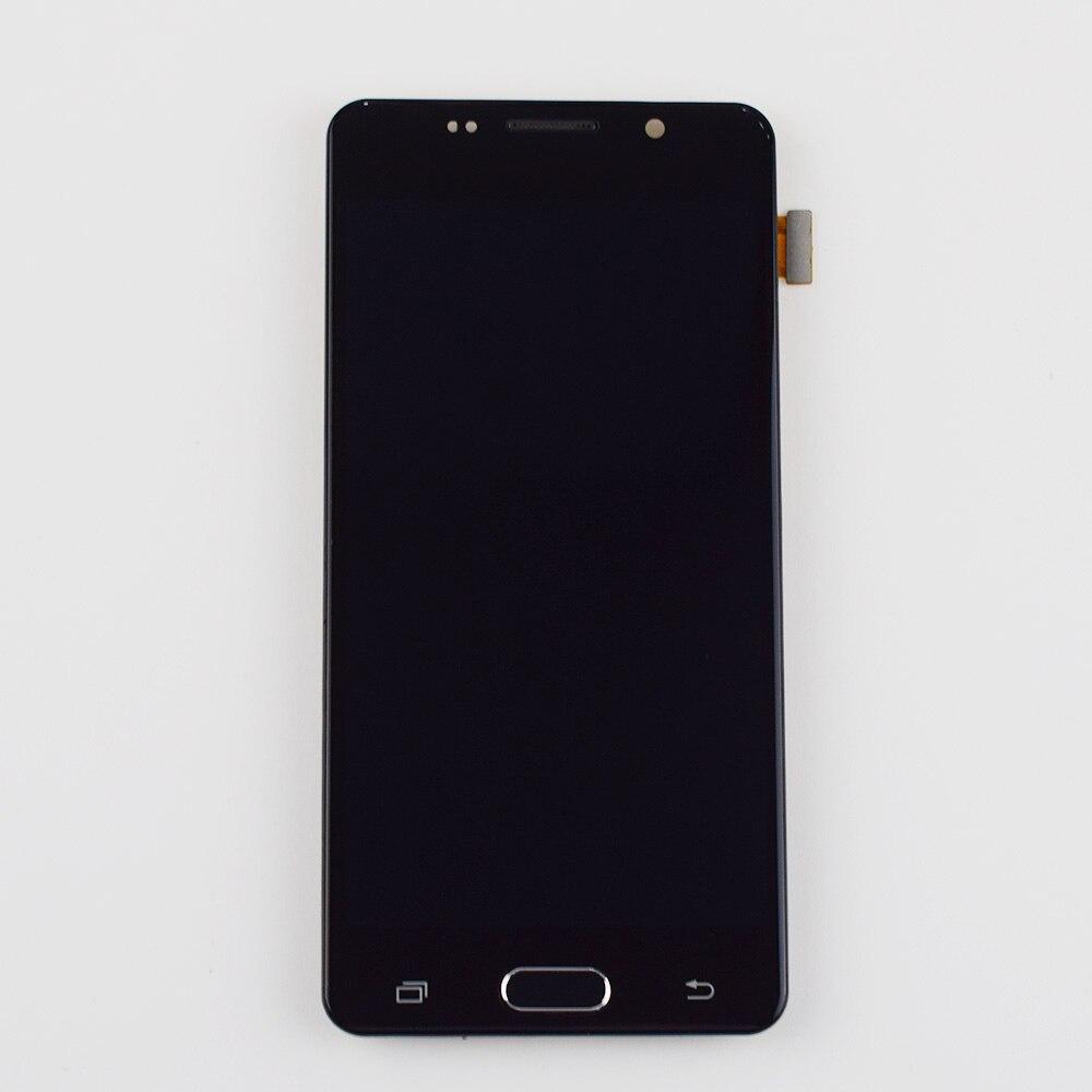Pour Samsung Galaxy A5 2016 A510 A510F A510M SM-A510F LCD Display + Écran Tactile Digitizer Assemblée Verre Avec Cadre