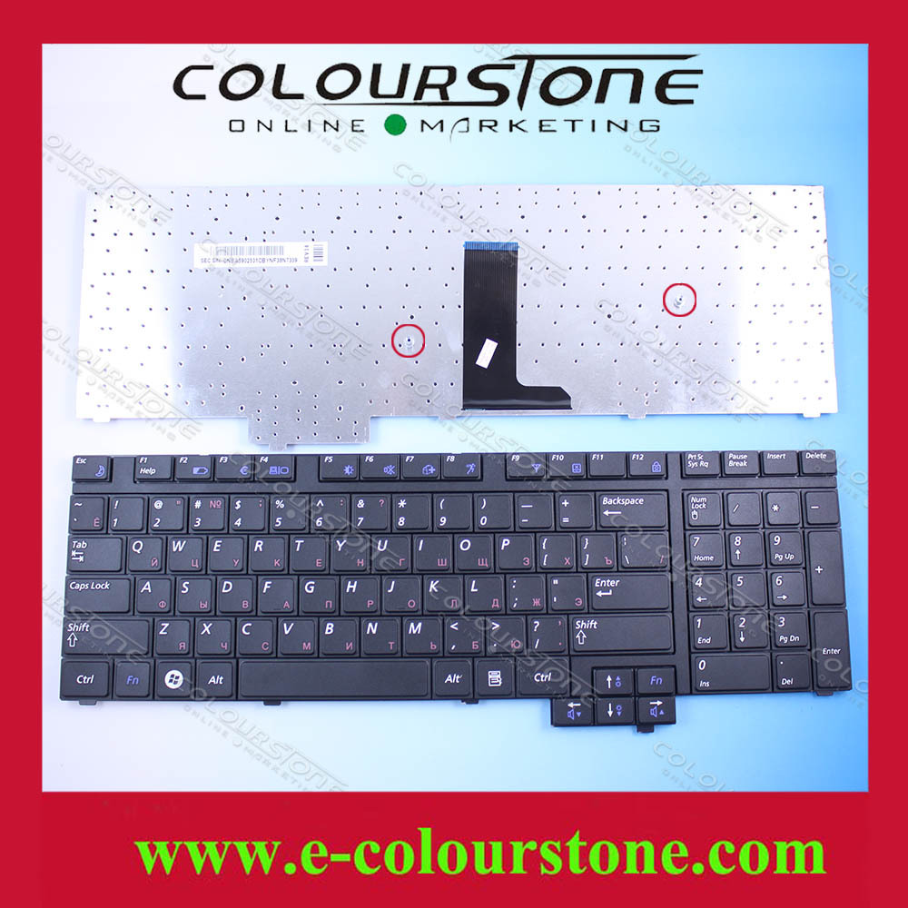ФОТО  Original Russian Laptop Keyboard For Samsung  R720 R730 Keyboard RU Black CNBA5902531CBYNF38N7267