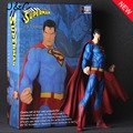 NEW Justice league Carzy Toys 30CM Superman Figure Toy Model Action Toy Figure For Kid Gift