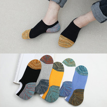 5 pairs Men Socks Boat No Show White Black Gray Short Solid Thin Socks For Male Animal Low Cut Sports Invisible Cotton Men Socks solid color invisible men s bamboo socks in gray