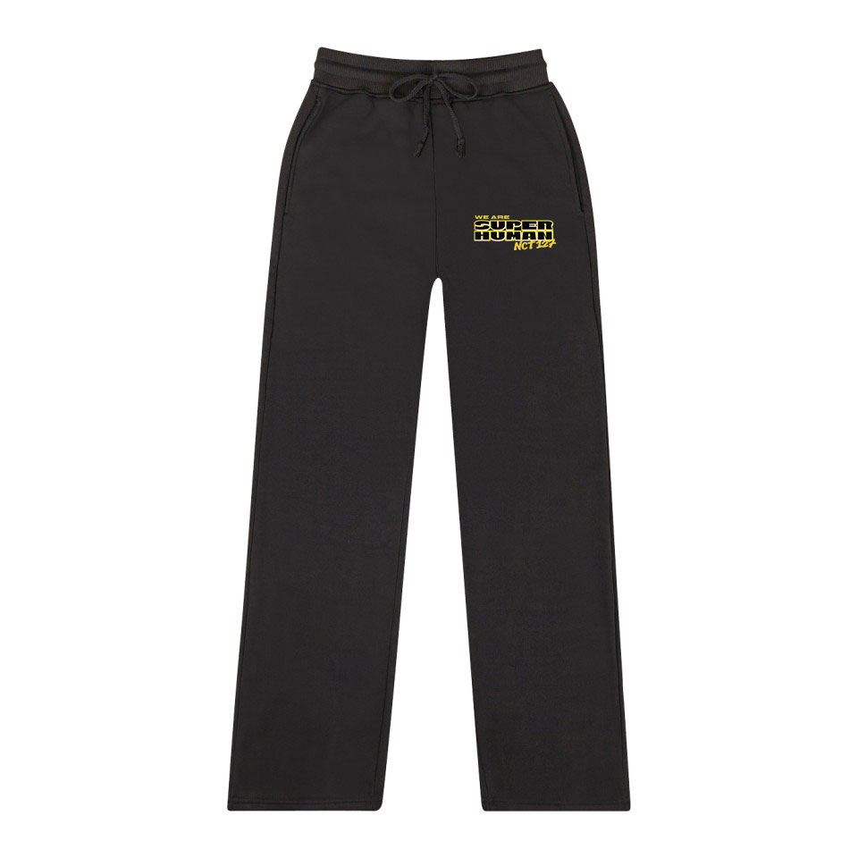 NCT 127 New WE ARE SUPERHUMAN  Trend Fashion Casual Women / Men Fashion Wide Leg Pants 2019 Hot Casual Fashion Sweatpants