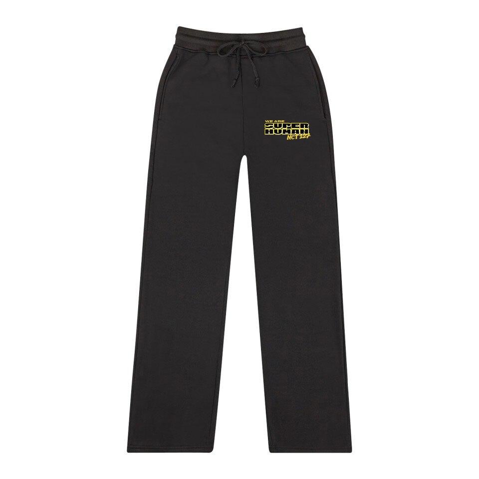 NCT 127 New WE ARE SUPERHUMAN  Trend Fashion Casual Women / Men Fashion Wide Leg Pants 2019 Hot Casual Fashion Sweatpants